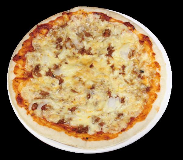 鶏そぼろピザ