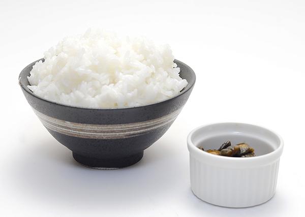 ご飯(漬物付き)