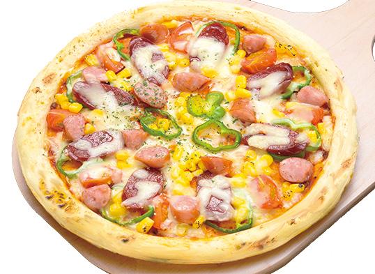 ソーセージミックスピザ